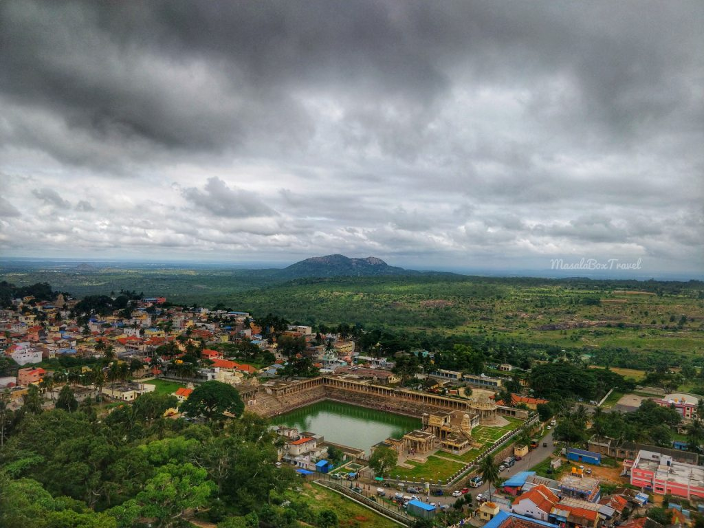 View from atop Yoga Narasimha Temple