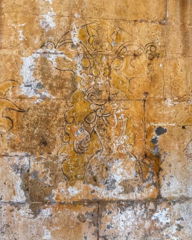 temple fresco