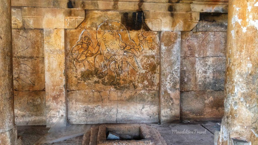 Venugopalswamy temple faded frescoes