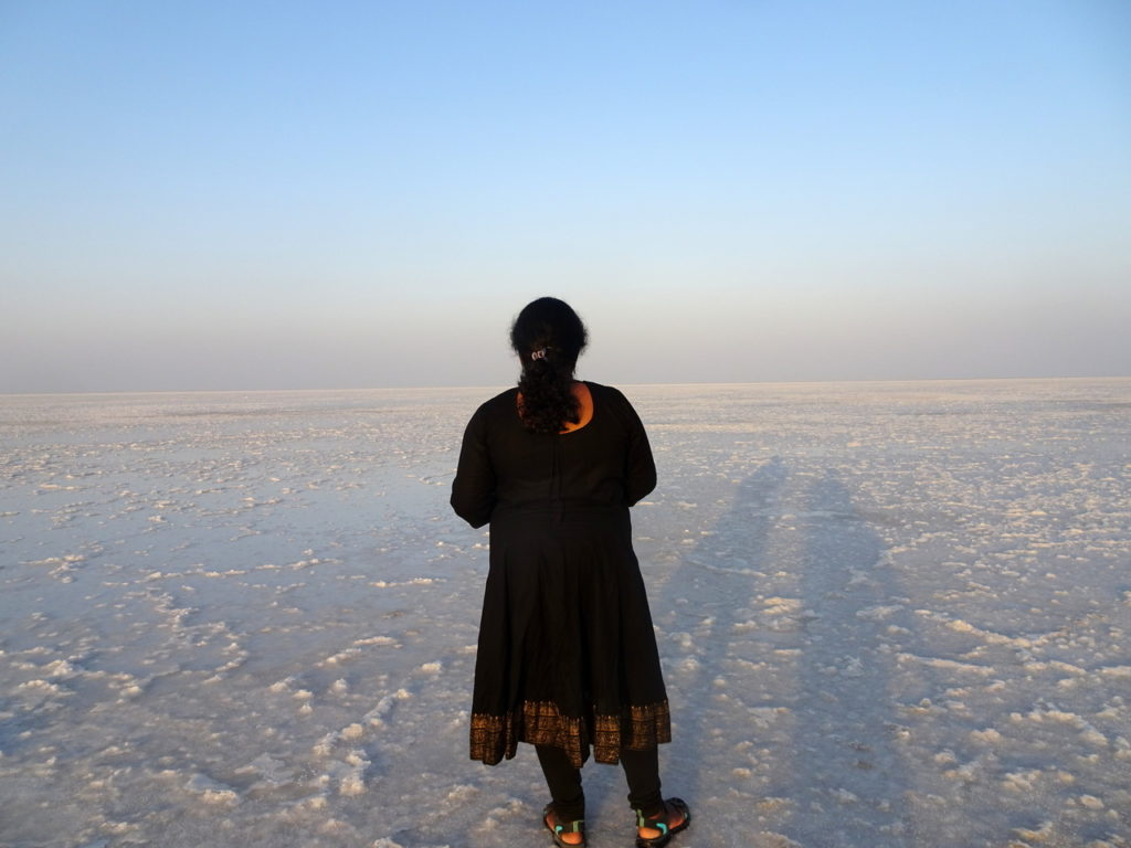 Lost in thoughts - Rann of Kutch