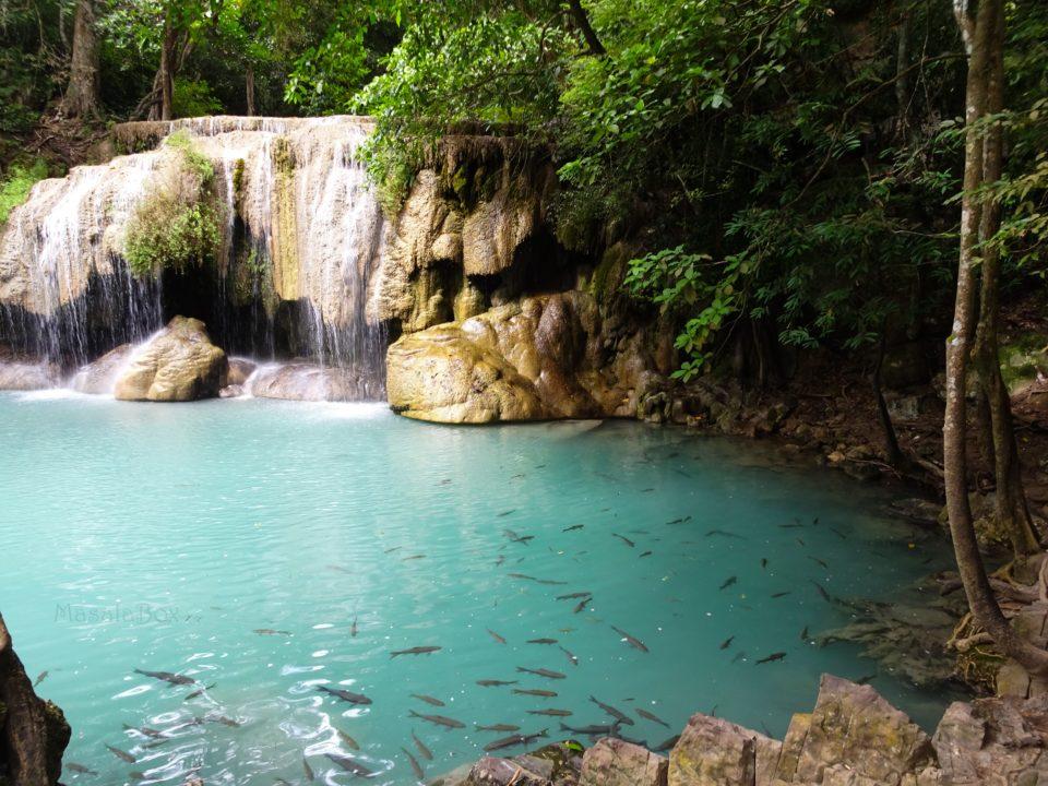 Erawan National Park – Explore Erawan Falls at Kanchanaburi, Thailand