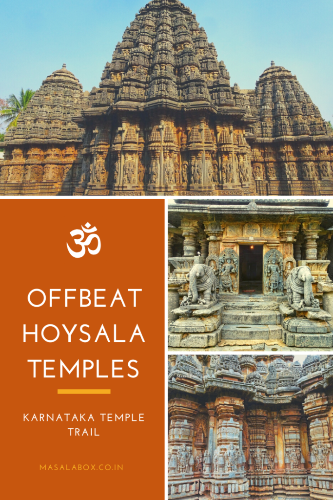 Hoysala Temples - Pin