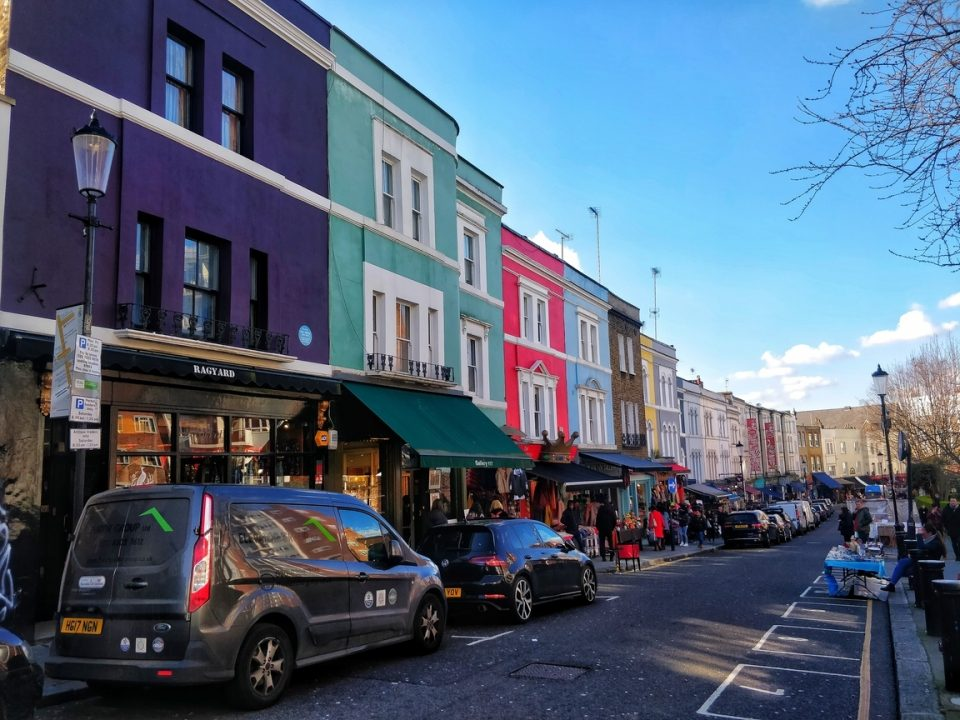 Notting Hill Portobello Market – London Walk