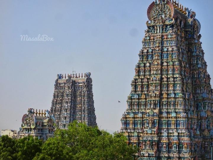 Madurai temple gopuram
