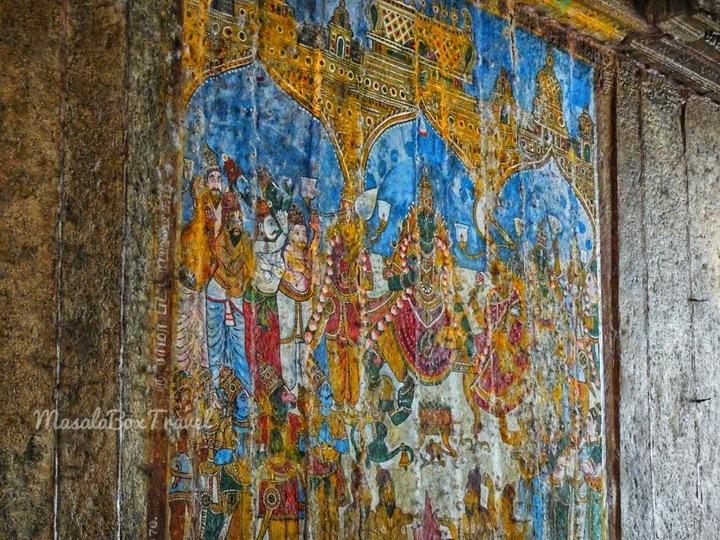 azhagar kovil Frescos