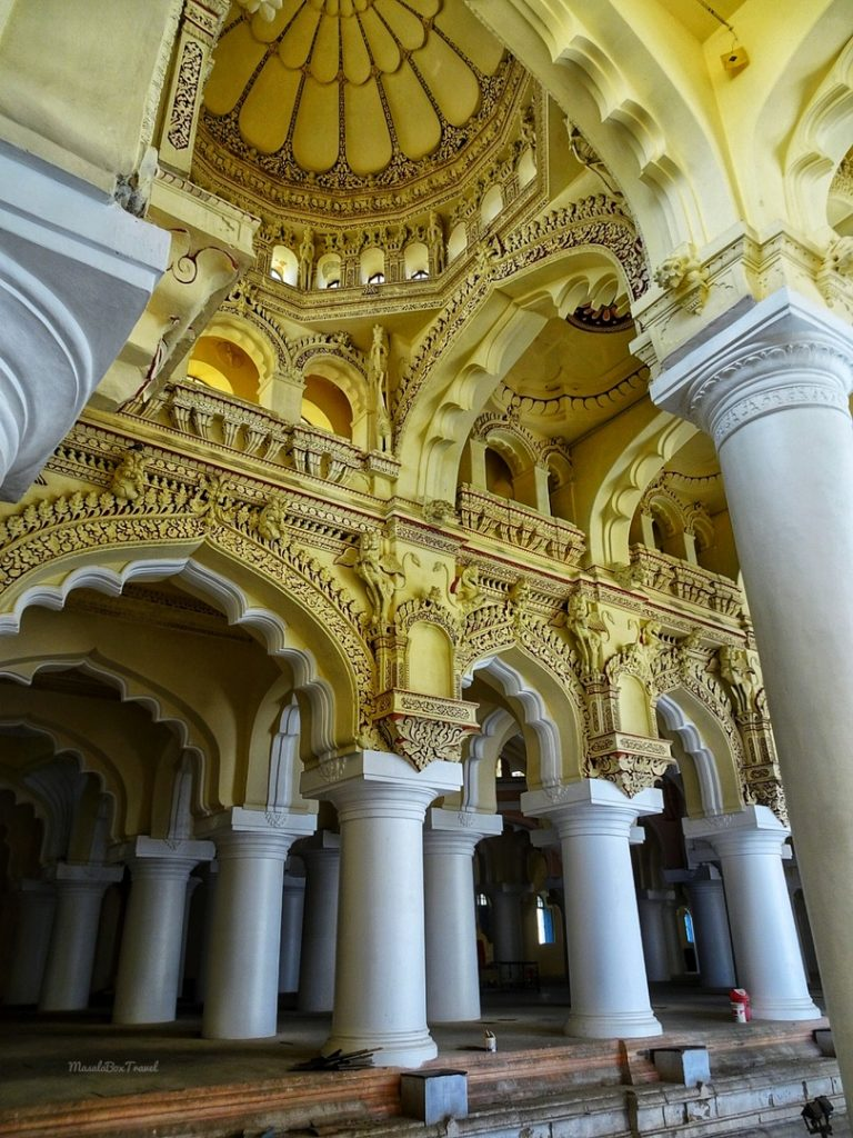 Madurai Palace Pillars