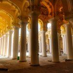 Thirumalai nayak mahal pillars