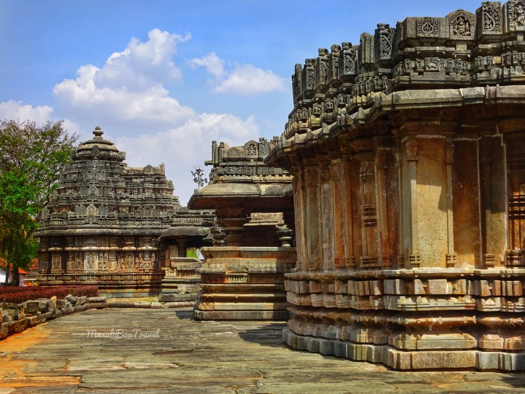 belavadi temple view